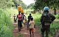 Peacekeepers escort internally displaced persons fetching water, violence against Tambura women reduced