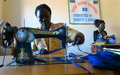 UNMISS peacekeepers support initiative to locally produce face masks in Wau