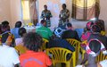 Reaching the unreached in Nimule: UNMISS sheds light on women's right in peace agreement