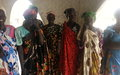 UNMISS Bentiu briefs women about their rights to increased involvement in promoting peace