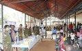 UNMISS peacekeepers provide free medicines to vulnerable people in Wau