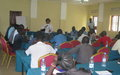 Yei youth groups explore ways to end hate speech and local conflict