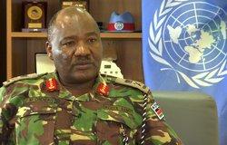 UNMISS Force Commander - Lieutenant General John Mogoa Kimani Ondieke