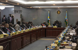 Ministers of Transitional Government of National Unity sworn into office