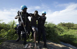 UN police boost safety for women outside South Sudan protection sites