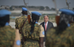 UN SG - REMARKS TO THE SECURITY COUNCIL ON ENHANCING AFRICAN CAPACITIES IN THE AREAS OF PEACE AND SECURITY
