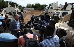 SRSG Shearer - Regional protection Force - Press Conference (near verbatim)
