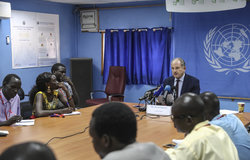 unmiss south sudan srsg special representative secretary-general juba press conference 9 march 2020