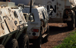 Nepalese FPU and CHNBATT provide protection of civillians and un staff as clashes in juba subside