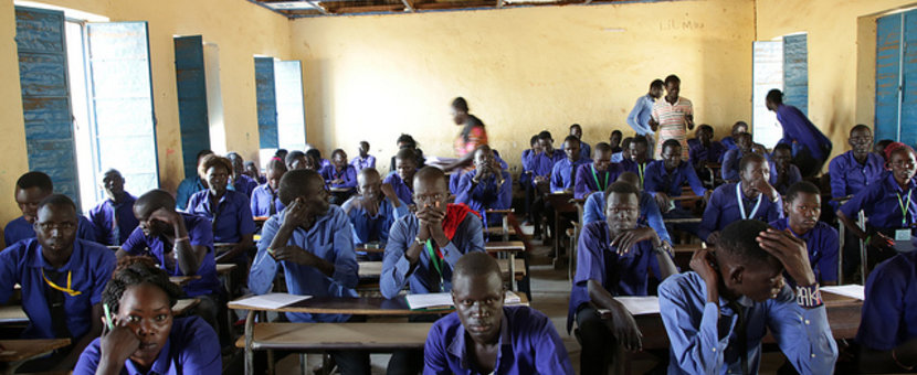unmiss juba south sudan secondary school national exams january 2019 protection of civilians unicef transport