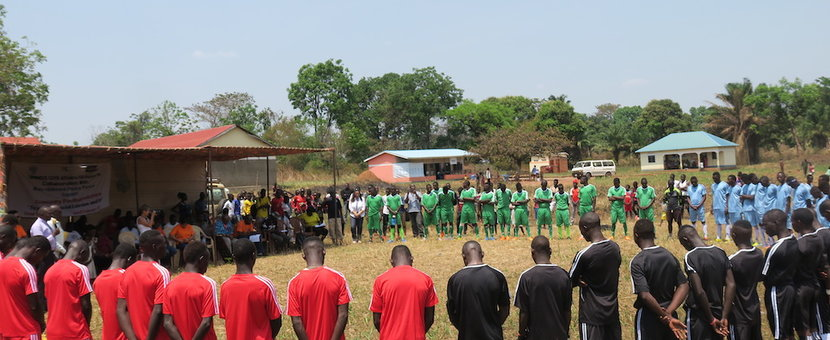 unmiss south sudan yambio sports for peace football winners frontlines