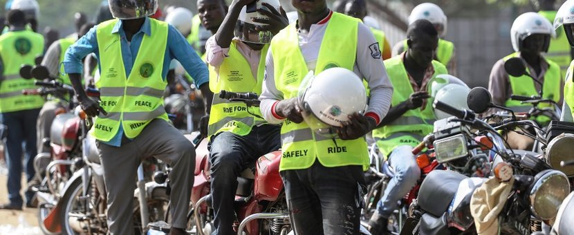 unmiss south sudan peace prospects revitalized peace agreement signing boda boda drivers road safety training attack convoy condemned