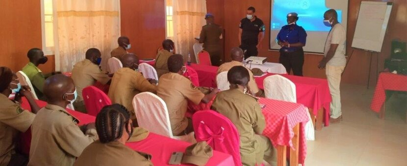 unmiss south sudan wau corrections officers unpol training human rights gender-based violence