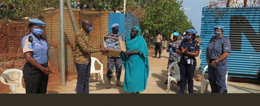 unmiss south sudan protection of civilians UNPOL humanitarian assistance Wau peacekeepers peacekeeping COVID-19 facemasks Coronavirus