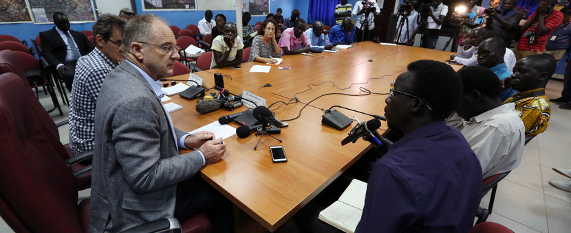 UNMISS SRSG Media Briefing Near Verbatim Transcript; Opening Remarks