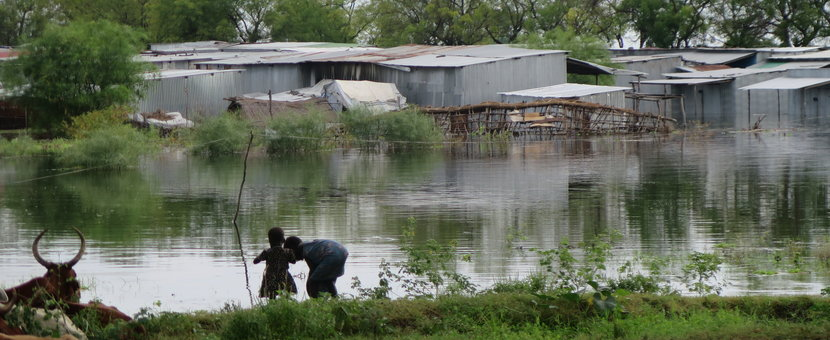 Catastrophic flooding affects thousands of families in conflict-ridden Pibor