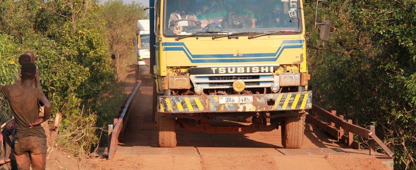unmiss south sudan lakes region bridge peacekeepers engineers rumbek thai humanitarian aid