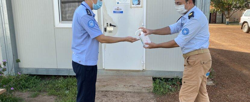 UNMISS South Sudan Peacekeepers Malakal COVID-19 Coronavirus Peacekeeping frontline workers