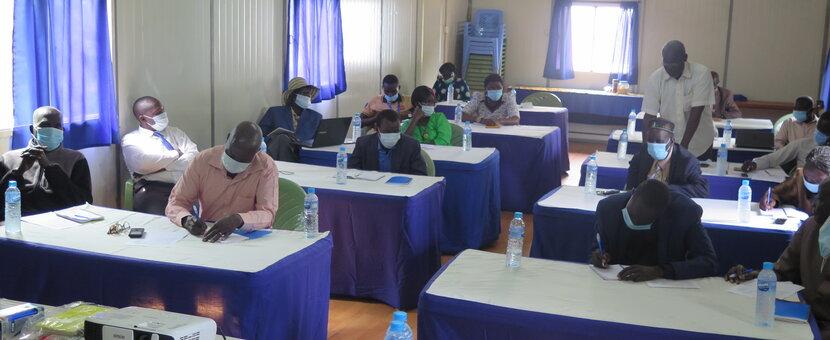 UNMISS civil affairs community engagement Western Bahr el Ghazal peace forum Revitalized Peace Agreement, South Sudan civil society