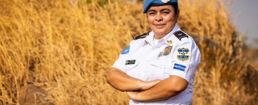 UNMISS COVID-19 peacekeepers peacekeeping South Sudan Women's Day Female Peacekeepers El Salvador