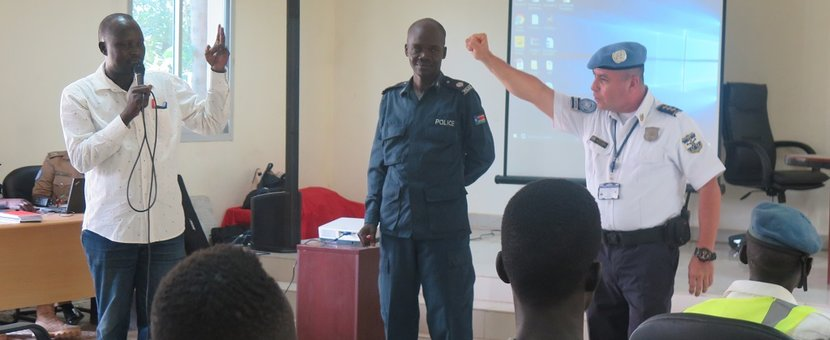 unmiss south sudan unpol training torit