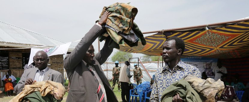 child soldiers unmiss unicef Pibor 17 may disarmament demobilization reintegration south sudan