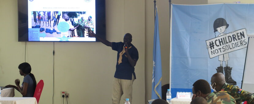 ed conflict child soldiers peacekeepers South Sudan peacekeeping Juba
