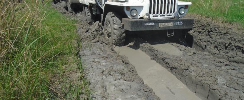 unmiss world food programme south sudan non-existent road pajut bor jonglei four days 197 km mandate