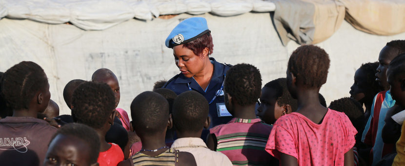 UN and community watch group work together to improve safety at Bentiu protection site