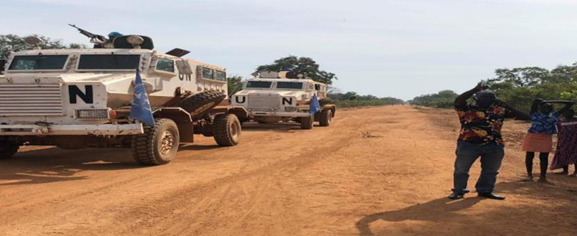 UNMISS protection of civilians peacekeepers South Sudan peacekeeping Cueibet Lakes Nepal intercommunal clashes