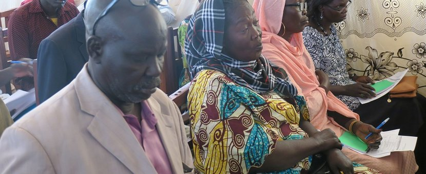 unmiss south sudan aweil human rights women freedom of expression and opinion cultural practices