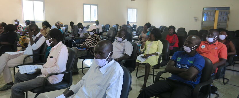 unmiss south sudan eastern equatoria civil society network coordination forum service delivery