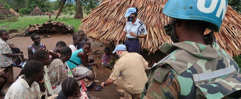 UNMISS protection of civilians displaced civilians peacekeepers South Sudan peacekeeping patrols Lowoi Eastern Equatoria herders cattle raids nomads settlers