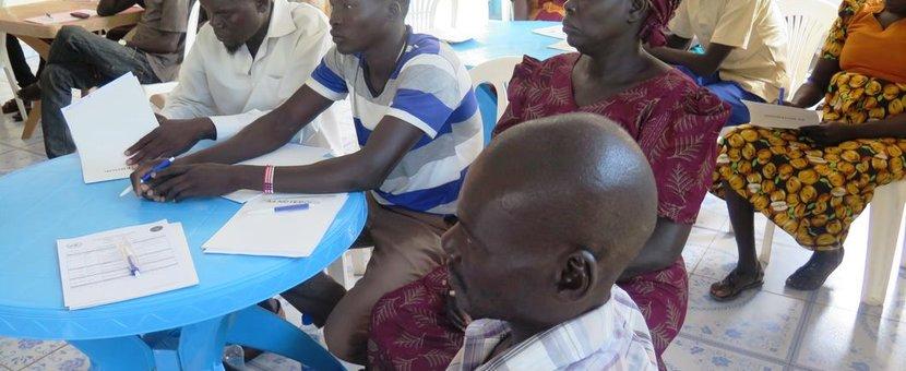 south sudan unmiss torit unpol watch groups training protection of civilians