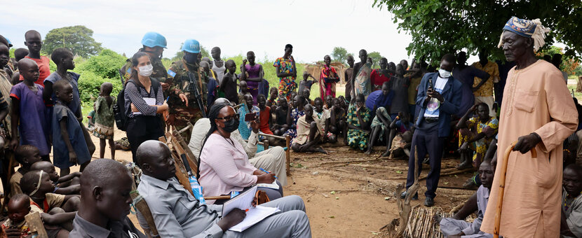 unmiss protection of civilians peace reconciliation conflict tonj warrap road blockades